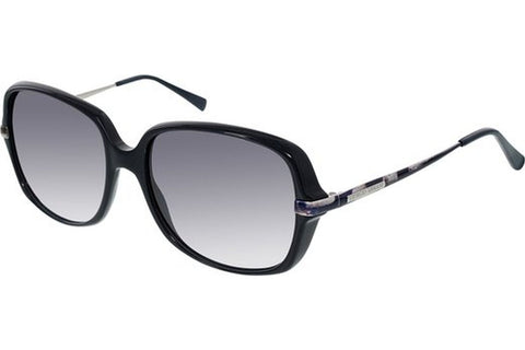 Giorgio Armani GA911/S FNL/BD Sunglasses, Black Frame, Grey Gradient 57mm Lenses