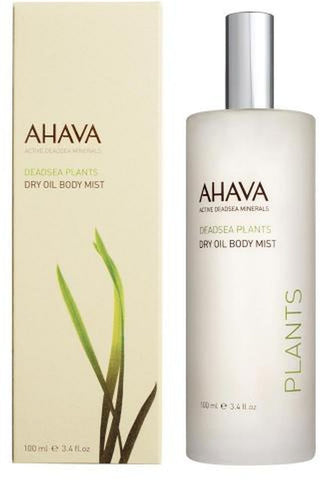 Ahava Deadsea Plants Dry Oil Body Mist 3.4 Oz