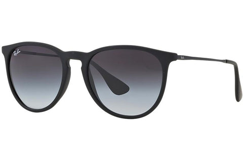 Ray-Ban RB4165-622/6G Erika Color Mix Sunglasses, Blue Gunmetal Frame, Grey Gradient 54mm Lenses