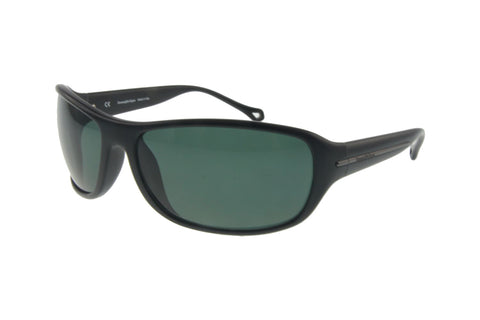 Ermenegildo Zegna SZ3603M U28P Sunglasses, Matte Black Frame, Polarized Green 67mm Lenses