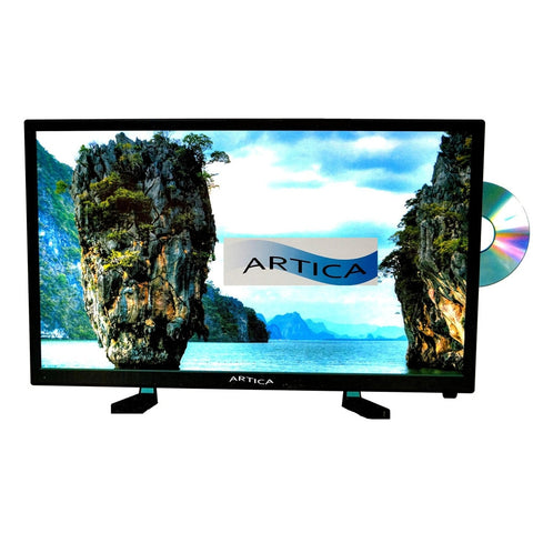 Artica AR2418 24-inch Led TV with DVD player HD Combo Digital Analog AC/DC 12V
