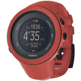 Suunto SS021468000 Ambit3 Sport Coral Digital Display Quartz Watch, Coral Silicone Band, Round 50.0mm Case