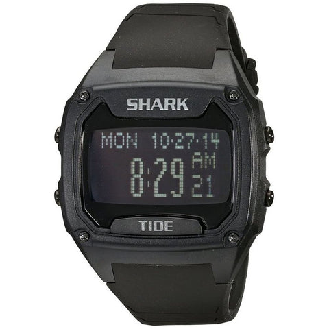 Freestyle Men's 101050 Shark Tide Classic XL Digital Watch, Black Silicone Band, Rectangle 48mm Case