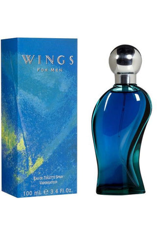 Wings 3.4 Edt Sp For Men