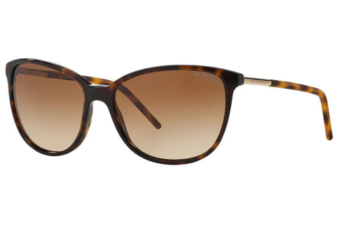 Burberry BE4180 300213 Cat Eye Women's Sunglasses, Dark Havana Frame, Brown Gradient 57mm Lens