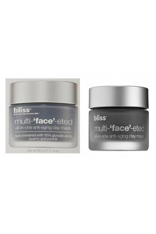 Bliss Multi-'Face'-Eted All-In-One Anti-Aging Clay Mask 2.3 Oz