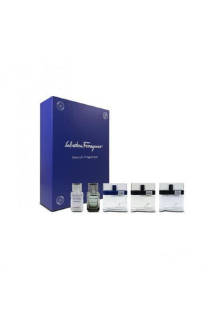 Salvatore Ferragamo 5 Pcs Mini Set For Men