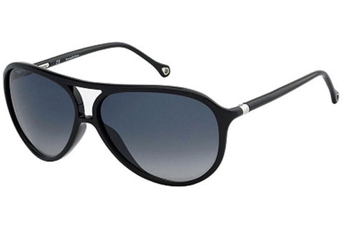 Ermenegildo Zegna SZ3513E Z42X Sunglasses, Black Frame, Smoke 62mm Lenses