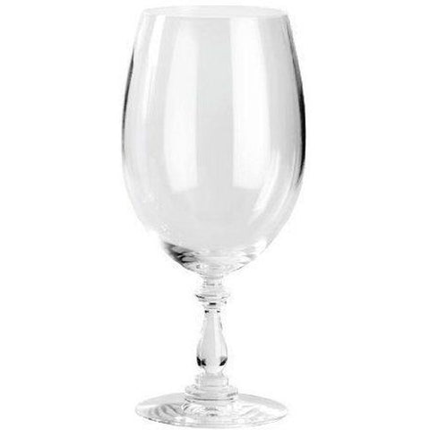 Alessi MW02/0 Marcel Wanders Dressed Glass Set for Red Wine, Set of 4, 8in H x 3 3/4in Diameter, 21 1/4oz