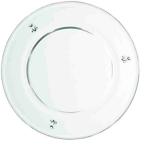La Rochere Abeille Flat Plate Model No. 632901, 9.84in Diameter, Set of 6
