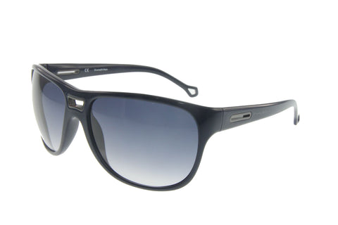 Ermenegildo Zegna SZ3577 07NS Sunglasses, Black Frame, Blue 61mm Lenses