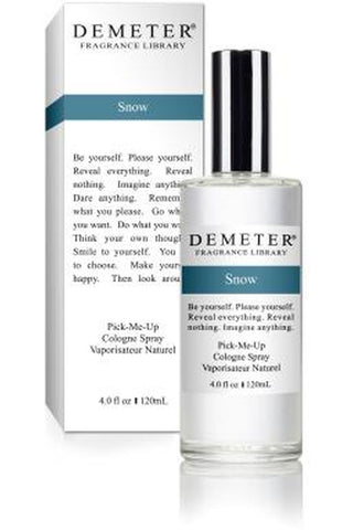 Demeter Snow 4 Oz Cologne Spray