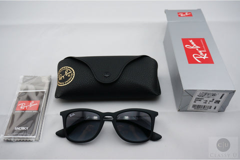 Ray-Ban RB4221 622/8G Sunglasses - Black Frame - Gray Gradient 50mm Lenses