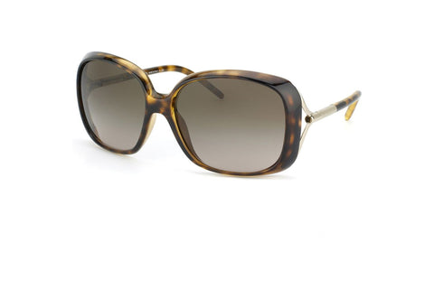 Burberry BE4068 300213 Square Women's Sunglasses, Tortoise Frame, Brown Gradient 59mm Lens