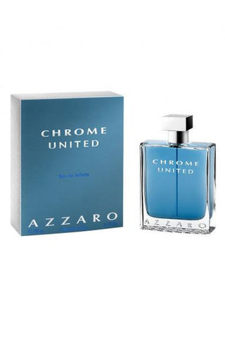 Azzaro Chrome United 3.4 Edt Sp For Men