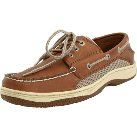 Sperry Top-Sider 0799320 Men's Billfish 3-Eye Boat Shoe, Dark Tan, Size 9 US(M)