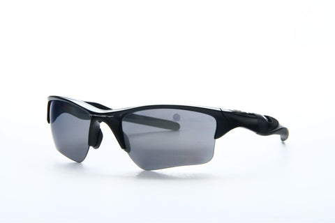 Oakley OO9154-01 Half Jacket 2.0 XL Sunglasses, Polished Black Frame, Black Iridium 62mm Lenses