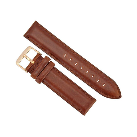 Daniel Wellington 0306DW St. Mawes Watch Strap, Rose Gold 20mm