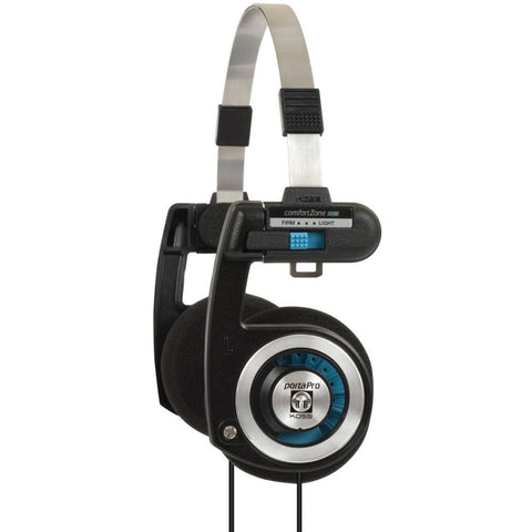 Koss 181397 Porta Pro Classic Headphone, On-Ear, 15-25,000Hz Frequency Response, 60Ohms Impedance, With Case
