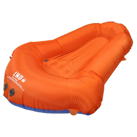 Klymit 14LDBl01C LiteWater Dinghy Pack Raft, Orange/Blue