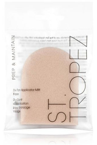 St Tropez 3 X Tan Applicator Mitt Face
