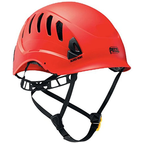 Petzl A20VRA Alveo Vent Professional Helmet, Red, One-Size
