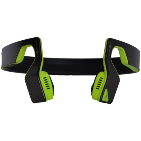 AfterShokz AS500SN Bluez 2S Wireless Bone Conduction Bluetooth Headphones, Neon Green