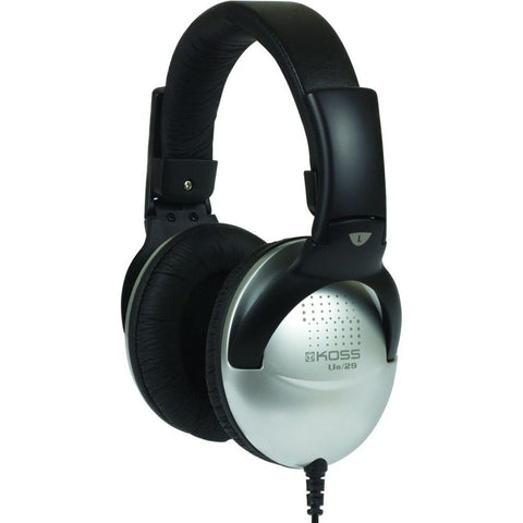 Koss UR29 Collapsible Headphones, Over-Ear, 18-20,000 Hz Frequency Response, 100 Ohms Impedance