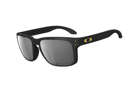 Oakley OO9102-17 Holbrook Shaun White Signature Series Sunglasses, Matte Black Frame, Polarized Gray 55mm Lenses