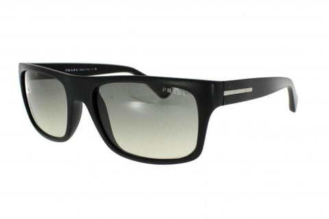 Prada PR 18PS 1BO0B1, Black Frame, Crystal Gray Gradient 56mm Lenses