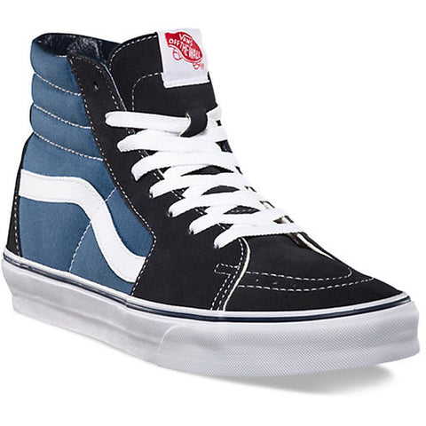 Vans SK8-Hi Shoes, Navy/White