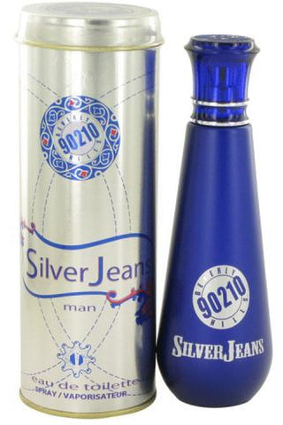 90210 Silver Jeans 3.4 Edt Sp For Men