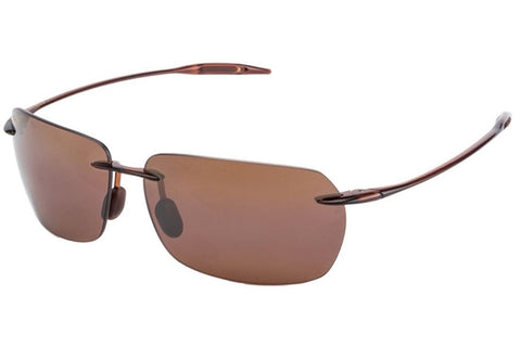Maui Jim H425-26 Banzai Sunglasses, Rootbeer Frame, HCL Bronze 61mm Lenses