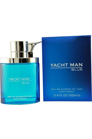 Yacht Man Blue 3.4 Edt Sp For Men