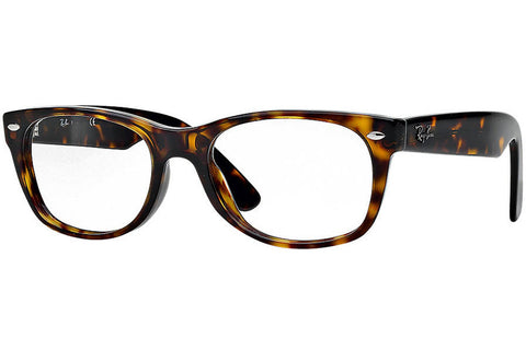 Ray-Ban RB5184 2012 New Wayfarer Optics Eyeglasses, Tortoise Frame, Clear 50mm Lenses
