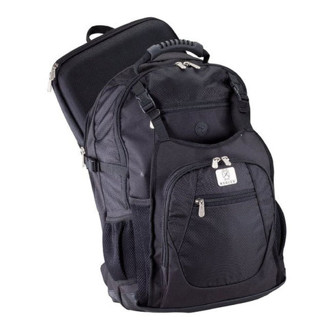 Mercer Culinary M30600M Backpack/KnifePack Plus™, Nylon Construction, Black
