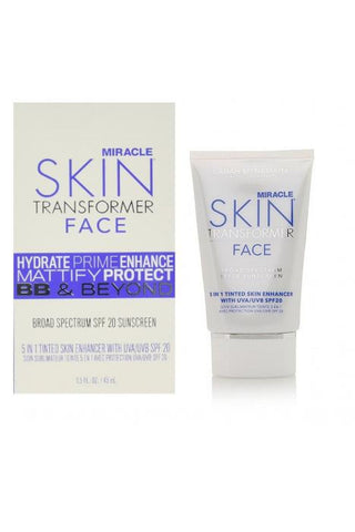 Miracle Skin Face Spf 20 Light 1.5 Oz