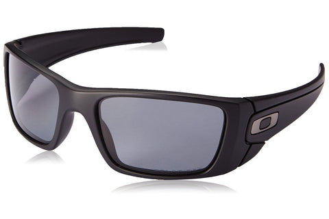 Oakley OO9096-05 Fuel Cell Sunglasses, Matte Black Frame, Polarized Gray 60mm Lenses