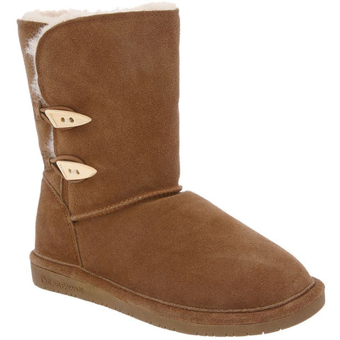Bearpaw 682W-220-M050 Women's Abigail 8in Tall Boots, Hickory, Size 5 M US