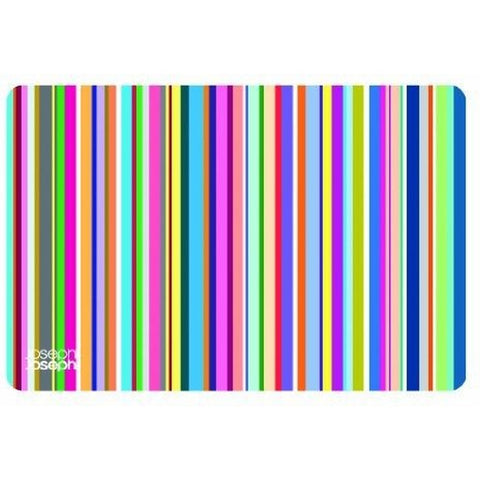 Joseph Joseph 92103 Flexi-Grip Non-Slip Flexible Cutting Board with Silicone Base, Stripes