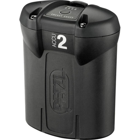 Petzl E55450-2 Accu 2 Ultra Rechargeable Battery, Black/Gray, One-Size