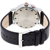Mondaine A468.30352.11SBB Evo Big, Black Leather Band, Round 40mm Case