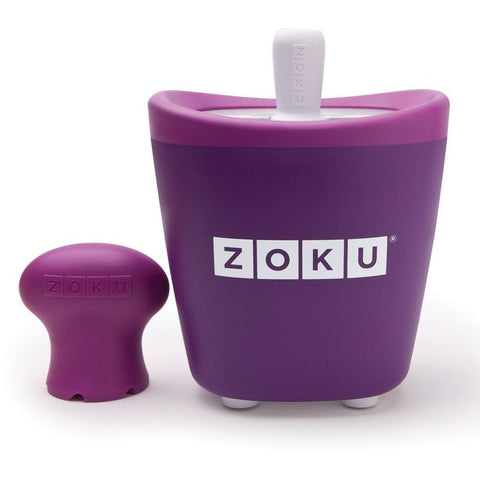 Zoku ZK110-PU Single Pop Maker, Purple Tool Set Materials are BPA and Phthalate Free
