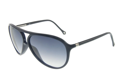 Ermenegildo Zegna SZ3513E 07NS Sunglasses, Black Frame, Blue 62mm Lenses
