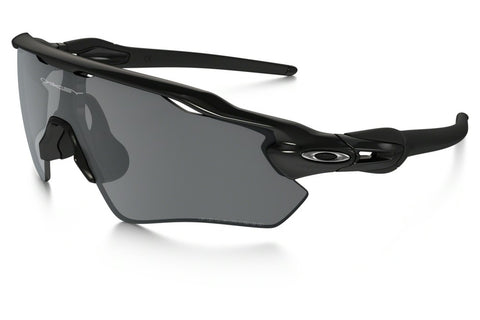 Oakley OO9208-07 Radar EV Path Polarized Sunglasses, Polished Black Frame, Black Iridium Polarized 138mm Lenses