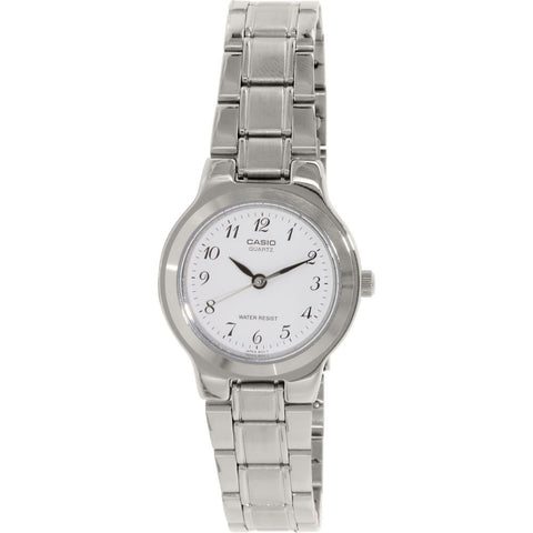 Casio LTP-1131A-7BRDF Analog Display Quartz Watch, Silver Stainless Steel Band, Round 27mm Case