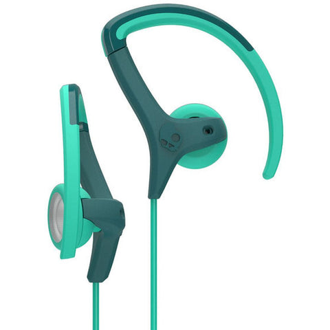 Skullcandy S4CHHZ-450 Chops Bud Around-the-Ear Earphones, Teal/Green