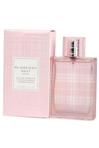 Burberry Brit Sheer 1.7 Edt Sp For Women