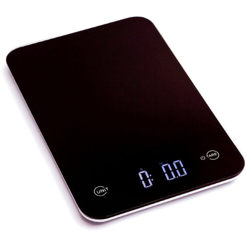 Ozeri ZK13 Touch Professional Digital Kitchen Scale, Black, 12 Lbs.