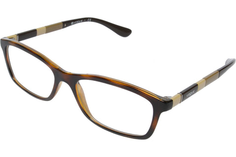 Vogue VO2968 W656 Women's Eyeglasses, Dark Havana Frame, Clear 54mm Lenses